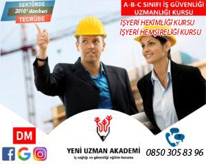 ISO 45001 Eğitimlerimiz Başlıyor